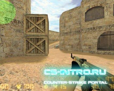 Металлический AK-47 + Перчатки из Sourse