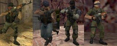 модели террористов