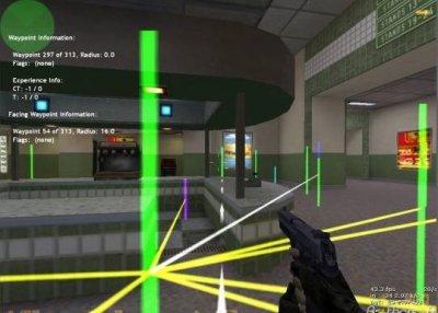 Waypoints для PodBot 2.5