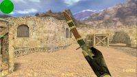 Модель ножа HD Bayonet | BS Snake для CS 1.6